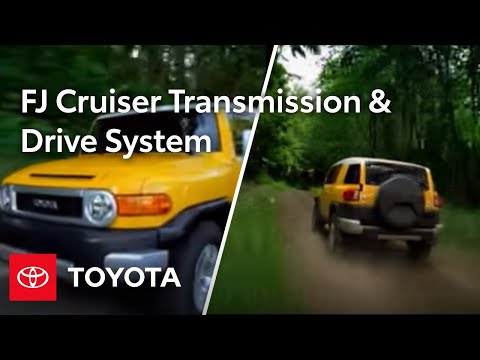 FJ Cruiser How-To: Automatic Transmission And Drive System | 2010 FJ Cruiser | Toyota
