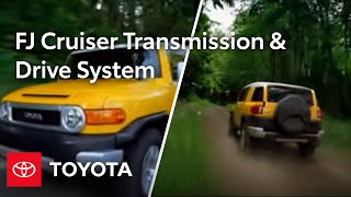 2010 FJ Cruiser How-To: Automatic Transmission And Drive System | Toyota