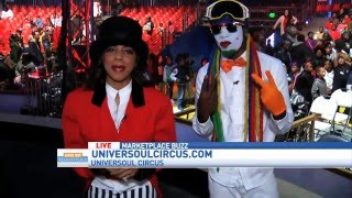 fresh the clowns at universoul circus on good day marketplace