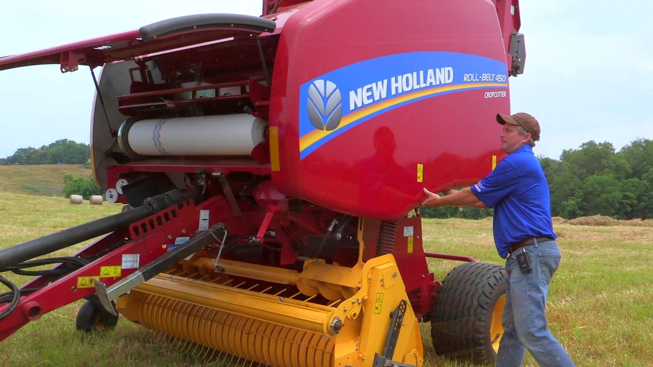 How It Works – Roll-Belt™ Round Baler Power Flow