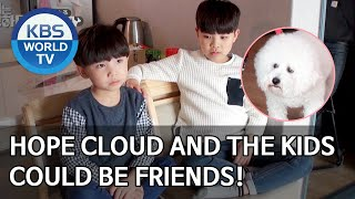 Hope Cloud and the kids could be friends! [Dogs are incredible/ENG/2020.04.14]
