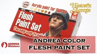 Andrea Flesh Paint Set ACS-01