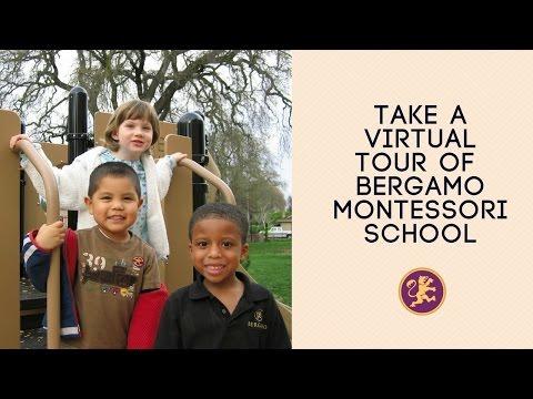 Take a Virtual Tour Of Bergamo Montessori School in Sacramento