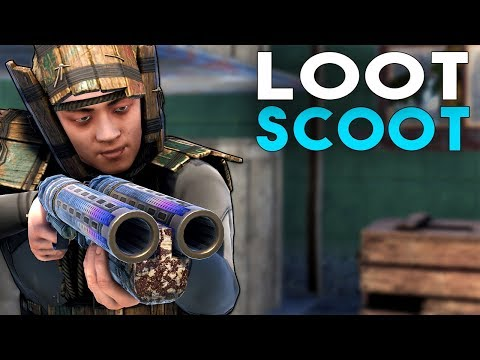 The SOLO EXPERIENCE LOOT & SCOOT !! Rust Survival Gameplay 2019 thumbnail