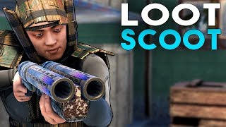 The SOLO EXPERIENCE LOOT & SCOOT !! Rust Survival Gameplay 2019