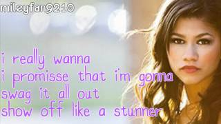Zendaya Coleman - Swag It Out (lyrics)
