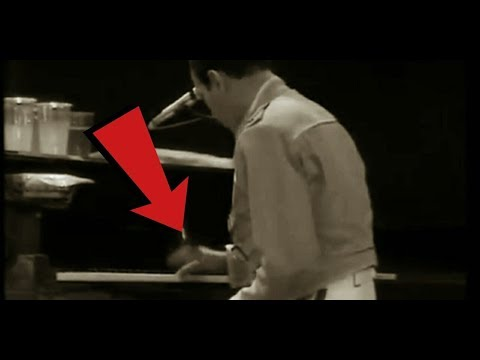 Freddie Mercury is an excellent piano player