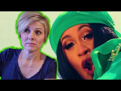 Mom REACTS to Cardi B - Bodak Yellow OFFICIAL MUSIC VIDEO