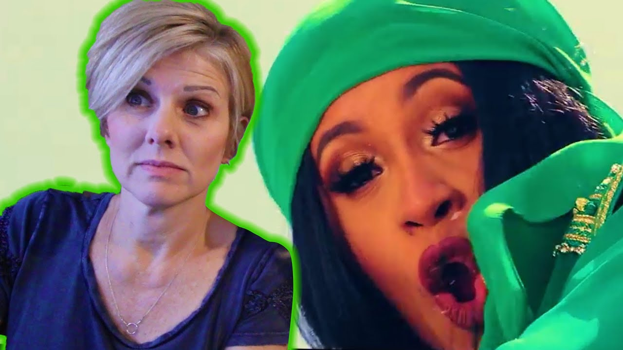 22c1139474a Mom REACTS to Cardi B - Bodak Yellow [OFFICIAL MUSIC VIDEO]