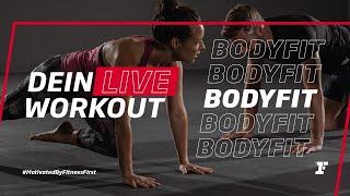 Fitness First Live Workout - BodyFit mit Chiara