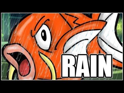 FULL POKEMON RAIN TEAM! (MAGIKARP IS BROKEN)