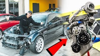 NEW PARTS FOR THE BMW E46 M3 DRIFT BUILD!!! + ROLL CAGE