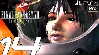 FINAL FANTASY VIII Remastered - Gameplay Walkthrough Part 14 - Outer Space & Saving Rinoa (PS4 PRO)