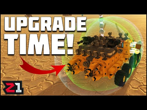 Upgrades From And ENEMY BASE ! Terratech Ep 2 | Z1 Gaming