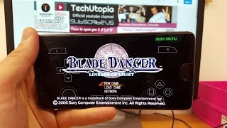 Blade Dancer: Lineage of Light ANDROID gameplay with PPSSPP emulator Snapdragon 821