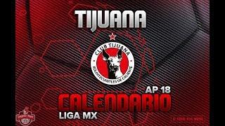 Xolos de Tijuana Calendario Oficial | Apertura 2018 Liga Mx