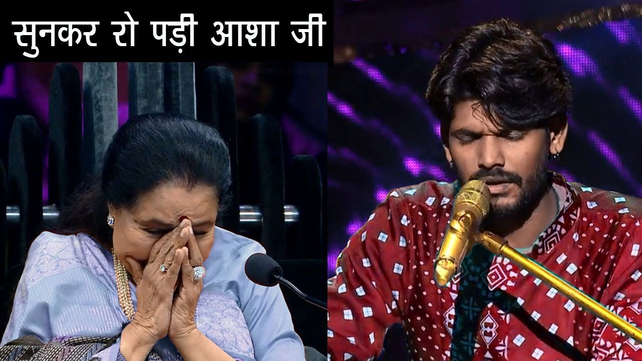Sawai Bhatt & Asha Bhosle | OMG What a Killing Performance | indian idol season 12