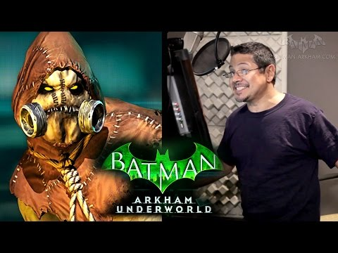 Batman: Arkham Underworld  The Voice of Scarecrow