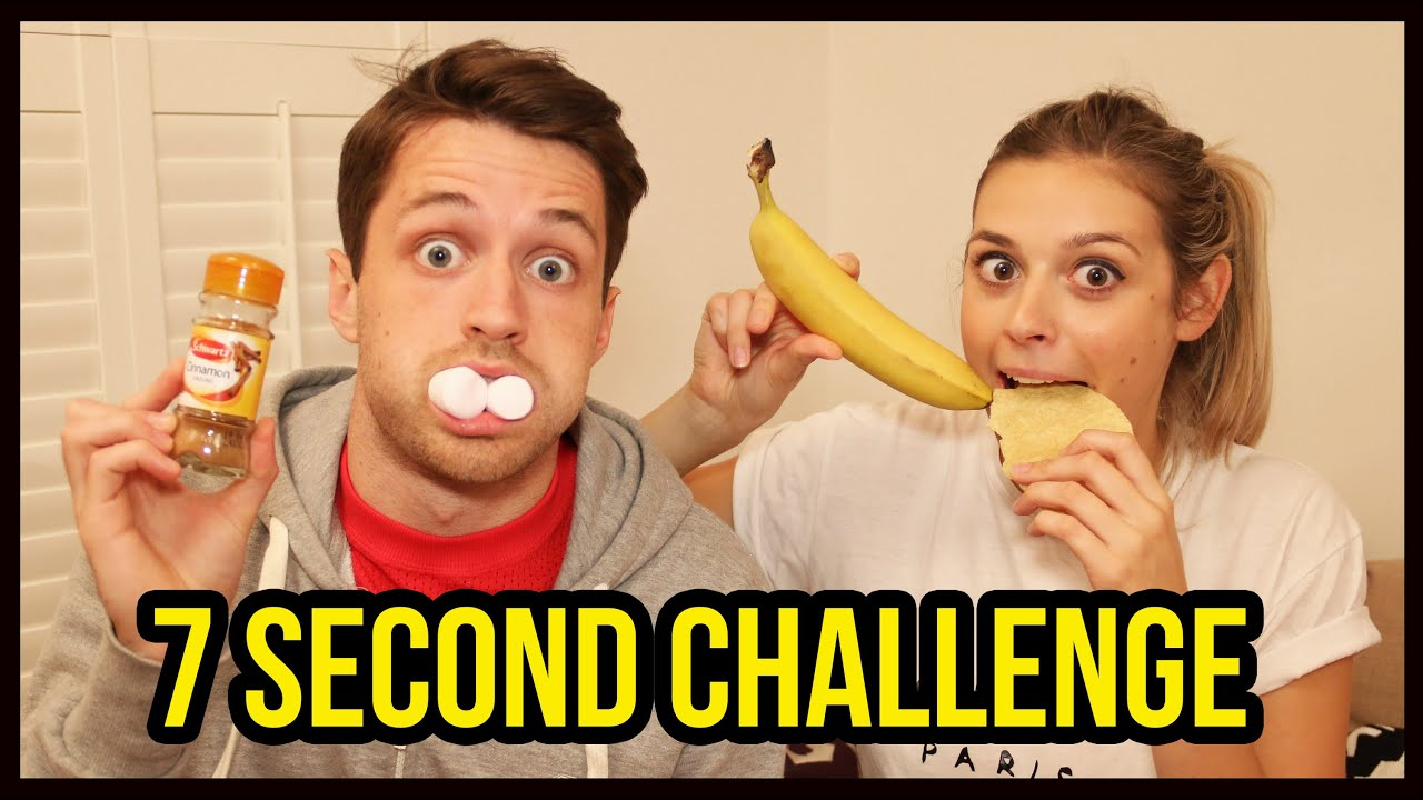 7 Second Challenge Spencer Vs Alex Youtube Linkis Com