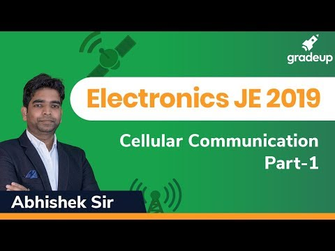 Communication Engineering | RRB JE Exams 2019 | Cellular Communication Part-1