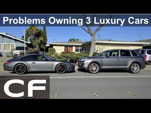 Owning 3 Luxury Cars 2000 In Maintenance Repairs Porsche 911 Cayenne Mercedes C Cl