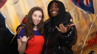 Interviewing the new Spider-Man!🕷 | Spider-Verse - Shameik Moore | Amber Doig-Thorne