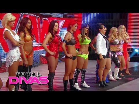 The Divas find out about their WrestleMania match: Total Divas, May 25, 2014
