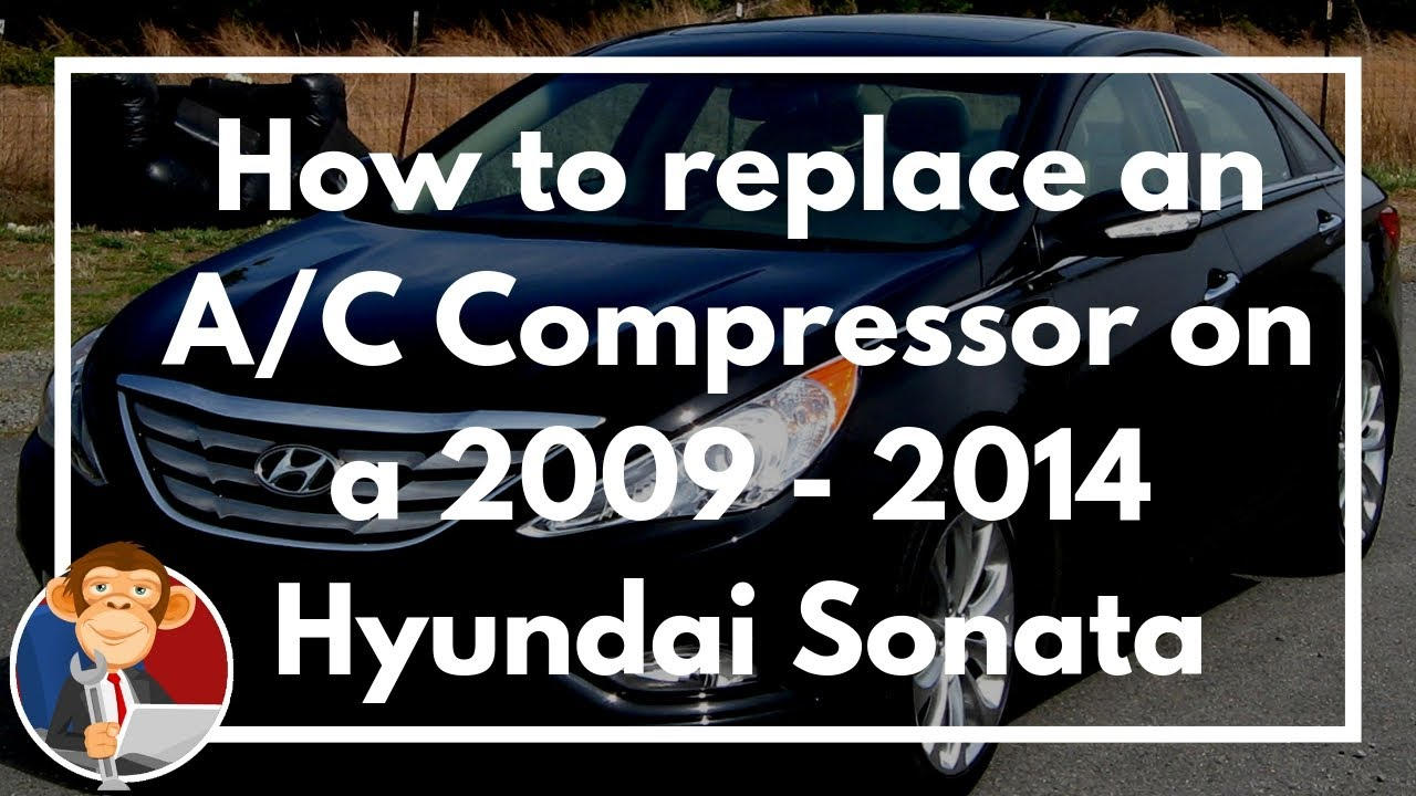 How To Replace The A C Compressor On 2009 2014 Hyundai Sonata 24l 2011 Genesis Coupe Fuse Box Egm Diy