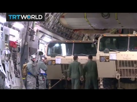 US moves missile defence equipment to South Korea