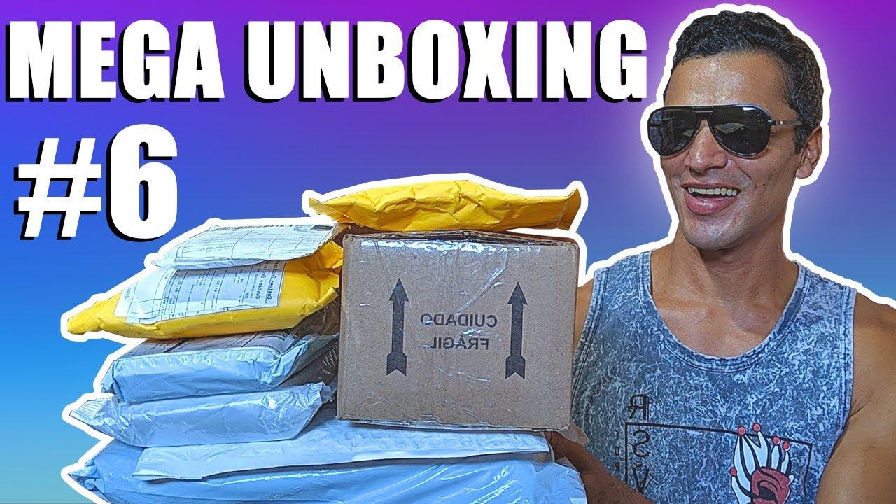 MEGA UNBOXING DE PRODUTOS IMPORTADOS DA ALIEXPRESS - SERÁ QUE FUI TAXADO? - MEGA UNBOXING #6