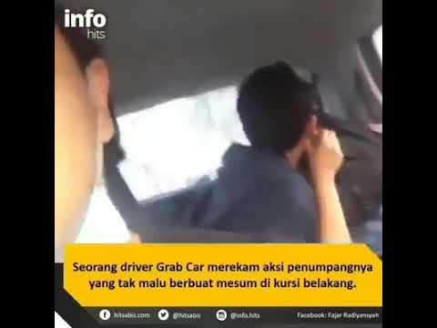 Memalukan Penumpang Grab Bercium Dalam Kereta