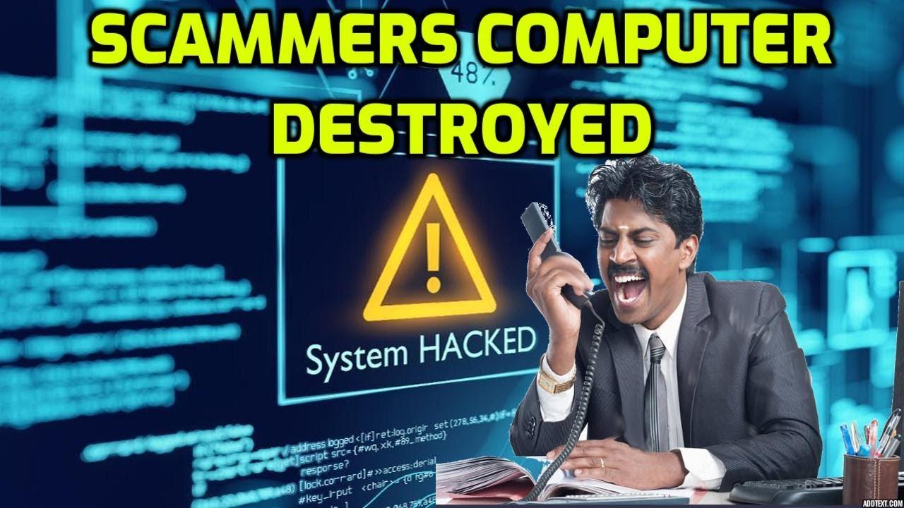 Russian Hacker Deletes Tech Scammers Files!
