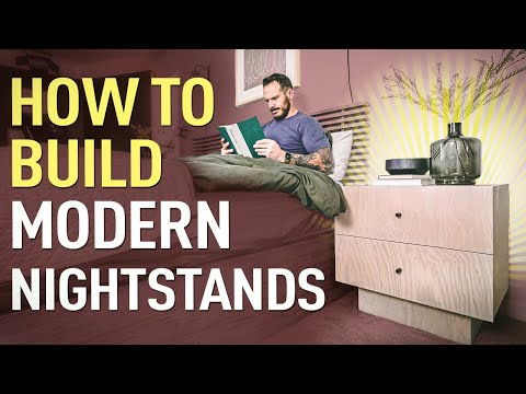 how-to-build-modern-nightstands