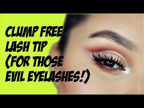 THE CLUMP FREE MASCARA TIP/HACK!
