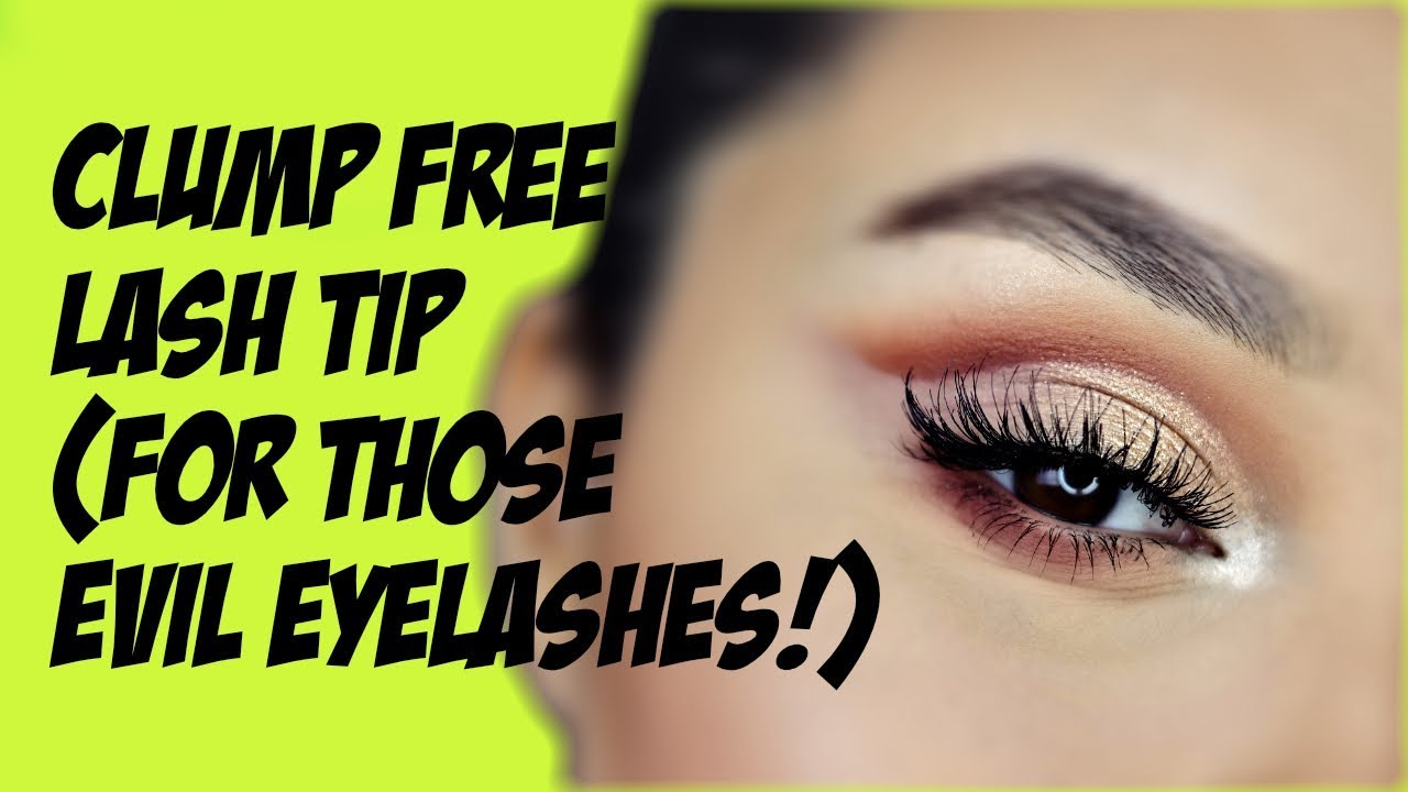 7ca1423cc80 THE CLUMP FREE MASCARA TIP/HACK! - YouTube