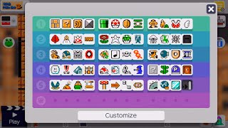 Super Mario Maker - Unlocking All Tools Quickly on Wii U (DOES NOT WORK ON 3DS)