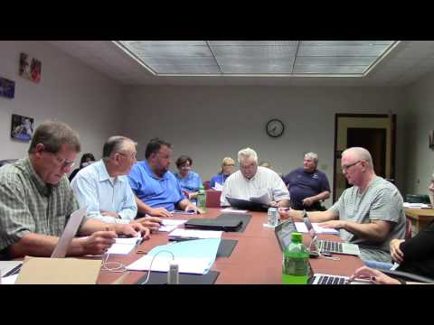 Mineral Point School Board 8.8.16