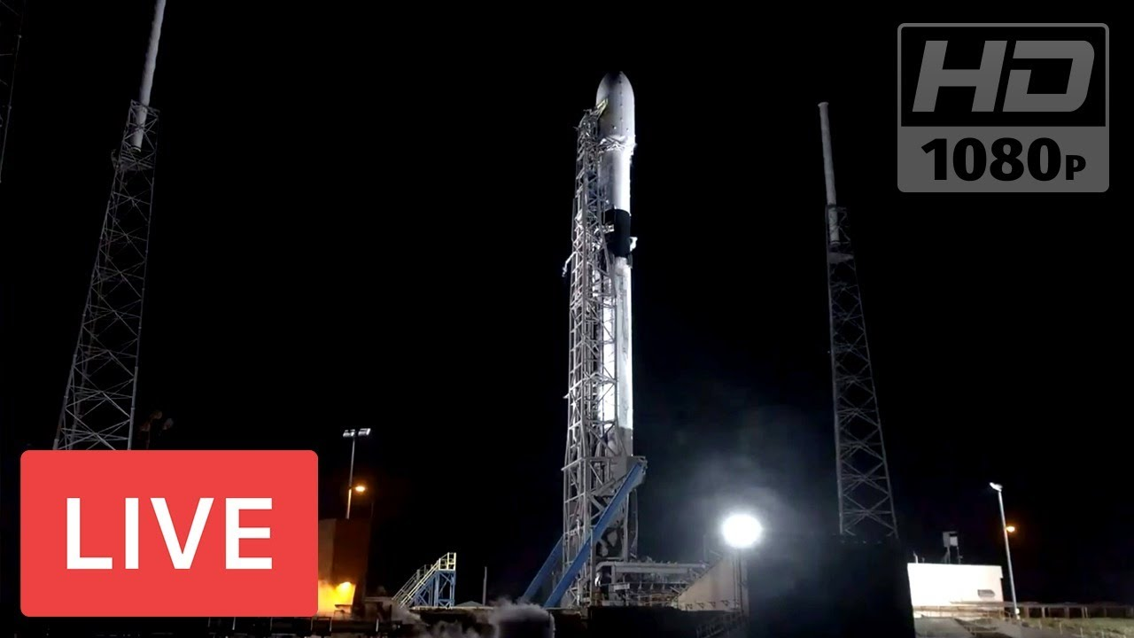 WATCH NOW: SpaceX to Launch Starlink Falcon 9 #InternetCommunicationSatellites @09:25pm EST