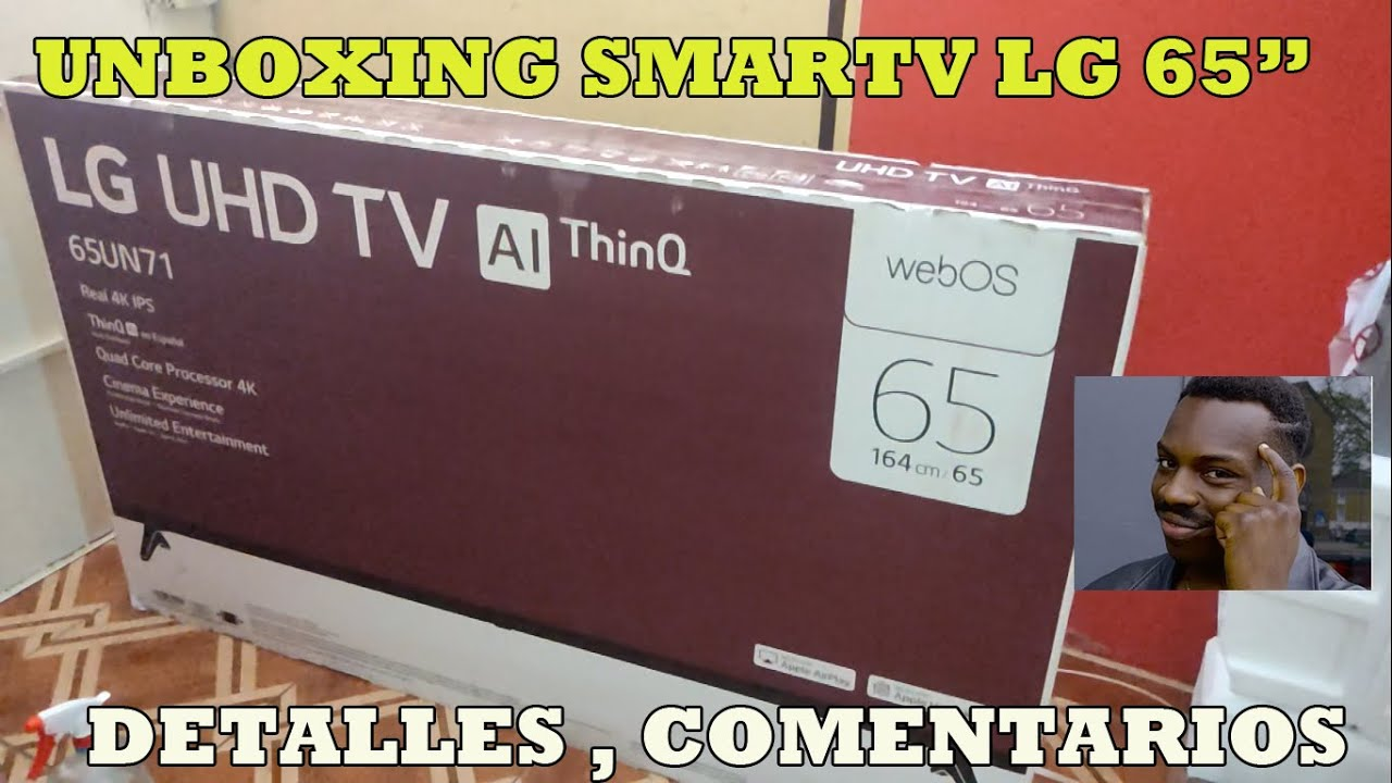 LG Smart TV UN7000 Series 4K UHD TV With IPS Panel