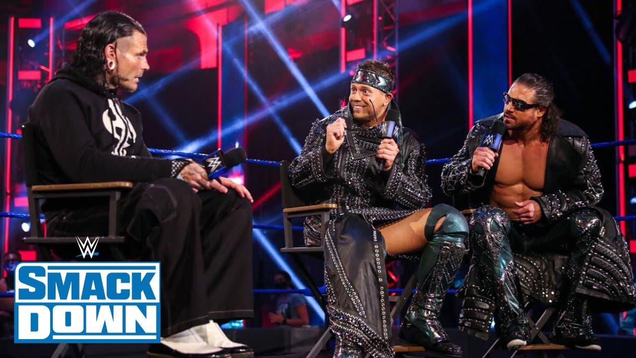 Nouveau Défi pour Jeff Hardy! Résultats WWE Smackdown 10 Juillet 2020