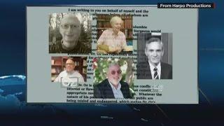 Dr. Oz accuses critics of conflict of interest