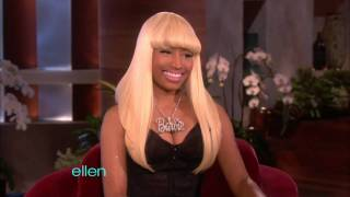 Repeat youtube video Nicki Minaj on Ellen
