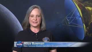 Briefing for New Horizons Pluto
