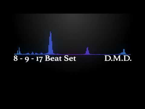 D.M.D. 8 - 9 - 17 Beat Set