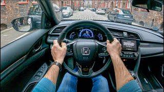 2021 Honda Civic 5d [1,0 VTEC Turbo 126hp] | 0-100 | POV Test Drive #786 Joe Black