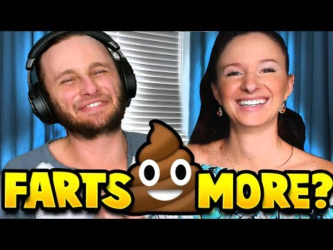 WHO FARTS MORE?! w/ QnA Madelyn!!