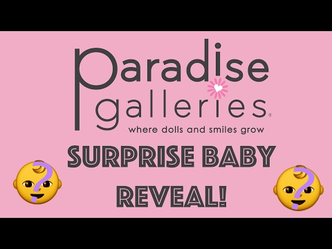 Brand New Unreleased Paradise Galleries Baby Reveal! Paradise Galleries Box Opening!