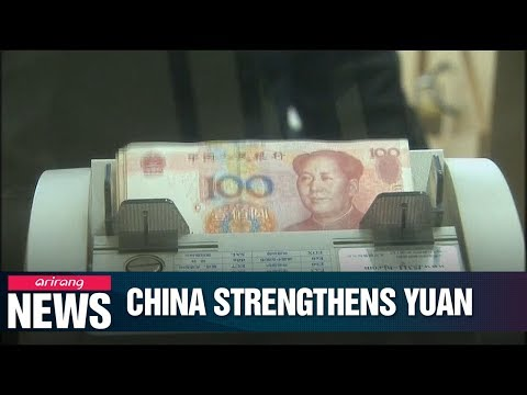 China Raises Nominal Rate Of RMB Against U.S. Dollar
