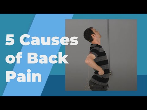 5 Common Causes of Back Pain