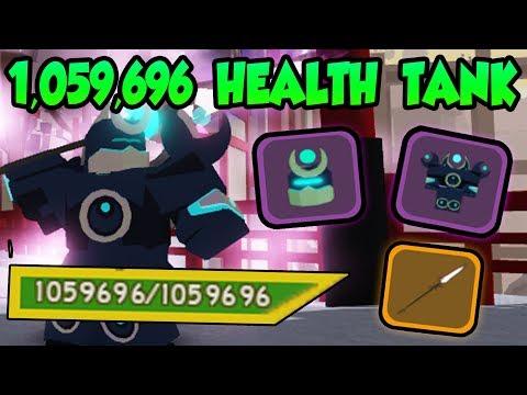 1 MILLION HEALTH TANK LOADOUT! Samurai Palace! - ⛑️Roblox Dungeon Quest